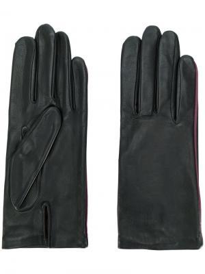 Перчатки New Kate Agnelle. Цвет: чёрный