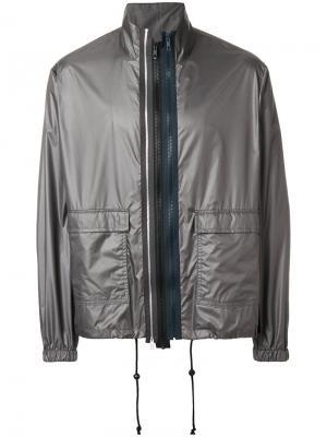 Спортивная куртка Maison Margiela. Цвет: серый