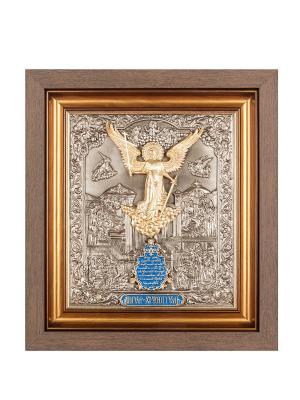 Панно Ангел Хранитель Art East. Цвет: коричневый, золотистый