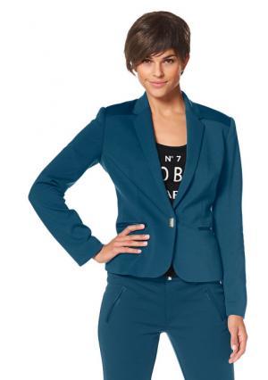 Жакет BRUNO BANANI. Цвет: зелено-синий/черный, черный