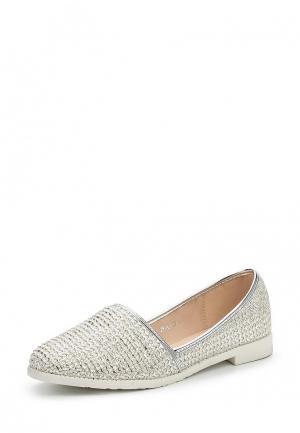 Туфли Style Shoes. Цвет: серебряный