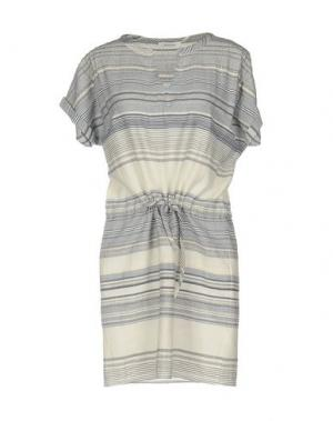 Короткое платье BELLA JONES. Цвет: синий