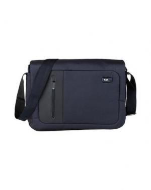 Деловые сумки NAVA. Цвет: темно-синий