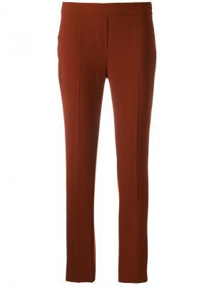 Узкие брюки D.Exterior. Цвет: жёлтый и оранжевый