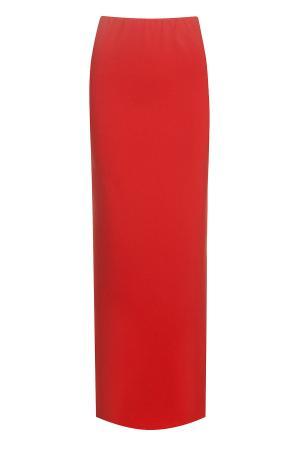 Юбка KYE. Цвет: красный