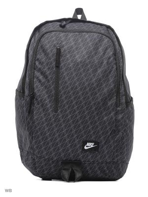 Рюкзак NIKE ALL ACCESS SOLEDAY - PRIN. Цвет: черный, темно-серый