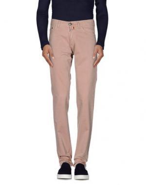 Джинсовые брюки BERWICH. Цвет: песочный