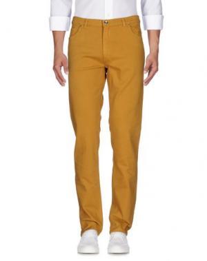 Джинсовые брюки MORRIS. Цвет: охра
