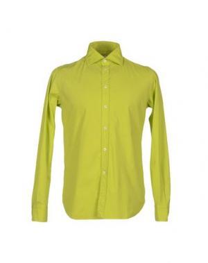 Pубашка BRANCACCIO C.. Цвет: кислотно-зеленый