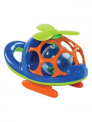 Погремушка Oball. Цвет: оранжевый, синий, салатовый