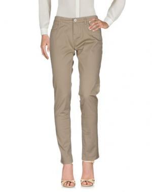 Повседневные брюки TRĒZ. Цвет: бежевый