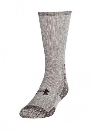 Комплект носков 2 пары Under Armour. Цвет: бежевый