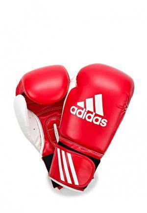 Перчатки боксерские adidas Combat. Цвет: красный