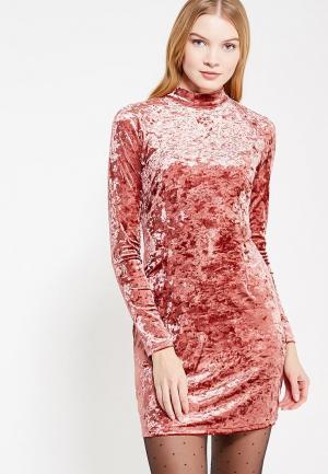 Платье Glamorous. Цвет: коралловый