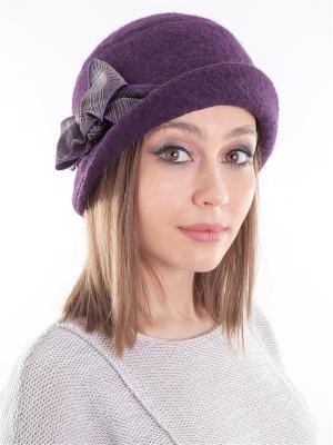 Шляпка LORICCI. Цвет: темно-фиолетовый