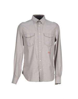 Pубашка RA-RE. Цвет: светло-серый