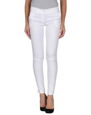 Повседневные брюки H²O LUXURY. Цвет: белый