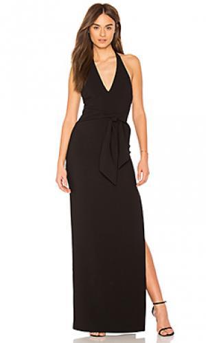 Вечернее платье stapleton LIKELY. Цвет: черный