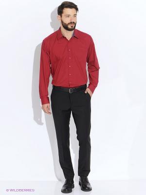 Рубашка Maestro. Цвет: красный