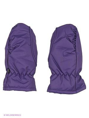 Варежки ТВОЕ. Цвет: фиолетовый