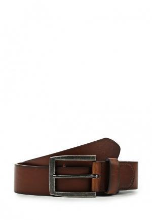 Ремень Burton Menswear London. Цвет: коричневый