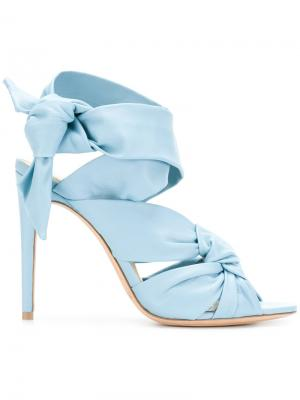Босоножки Maleah Freeze Alexandre Birman. Цвет: синий