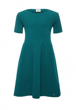 Платье Armani Junior. Цвет: бирюзовый