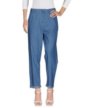 Джинсовые брюки SPARKZ. Цвет: синий