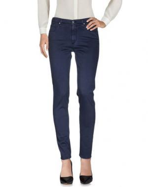 Повседневные брюки AG ADRIANO GOLDSCHMIED. Цвет: грифельно-синий