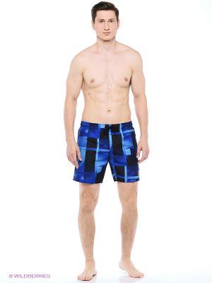 Шорты для пляжа и повседневной носки Speedo. Цвет: темно-синий, голубой