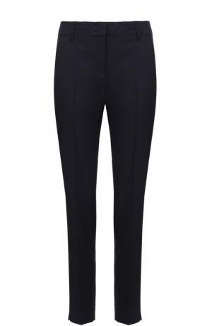 Укороченные брюки прямого кроя Dorothee Schumacher. Цвет: темно-синий