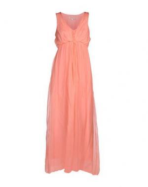 Платье длиной 3/4 M!A F. Цвет: розовый