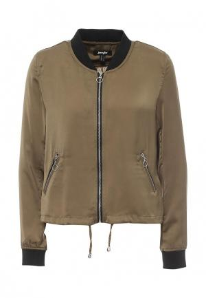 Куртка Jennyfer. Цвет: хаки