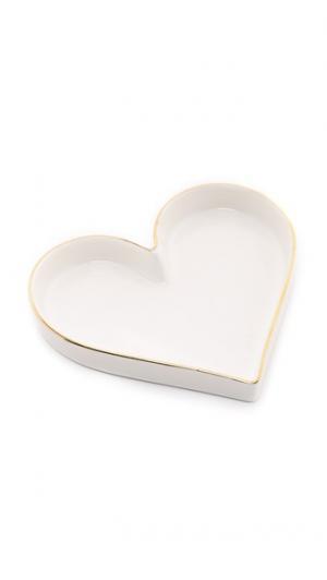 Поднос Trinket с сердечком Gift Boutique
