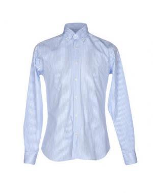 Pубашка CALIBAN. Цвет: небесно-голубой