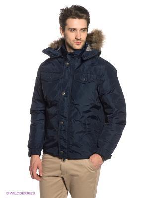 Куртка Marville. Цвет: синий