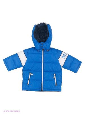 Куртка MANAI. Цвет: индиго