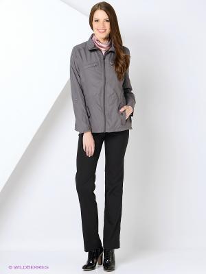 Куртка HARTWEAR. Цвет: серый, темно-серый, серо-коричневый