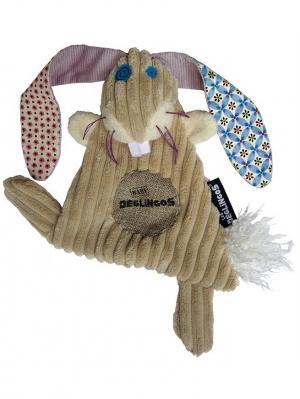 Игрушка Deglingos Кролик Lapinos - Baby. Цвет: бежевый