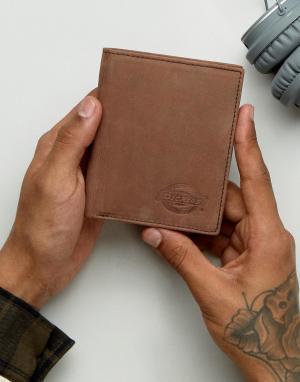 Dickies Кожаный кошелек Ridgeville. Цвет: коричневый