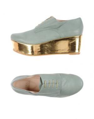 Обувь на шнурках LIKA MIMIKA. Цвет: светло-зеленый