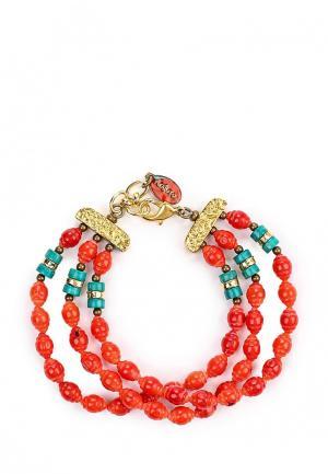Браслет Nature bijoux. Цвет: красный