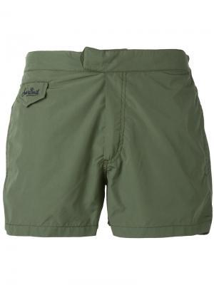 Плавательные шорты Harry Mc2 Saint Barth. Цвет: зелёный