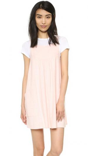 Платье Rose Vale. Цвет: розовый