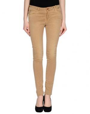 Повседневные брюки REIKO. Цвет: верблюжий