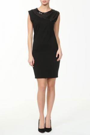 Платье ALICE+OLIVIA. Цвет: черный