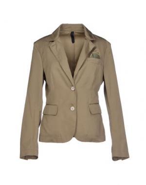 Пиджак AQUARAMA. Цвет: зеленый-милитари