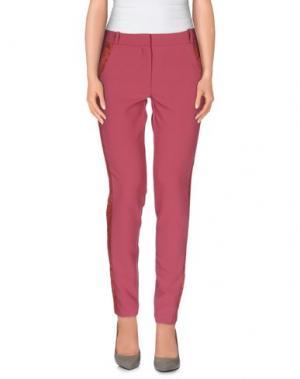 Повседневные брюки INTROPIA. Цвет: пастельно-розовый