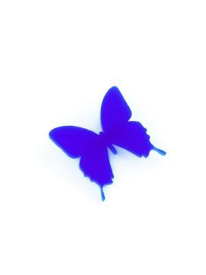 Брошь Бабочка НечегоНадеть. Цвет: синий