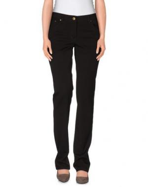 Повседневные брюки CONTE OF FLORENCE. Цвет: темно-коричневый